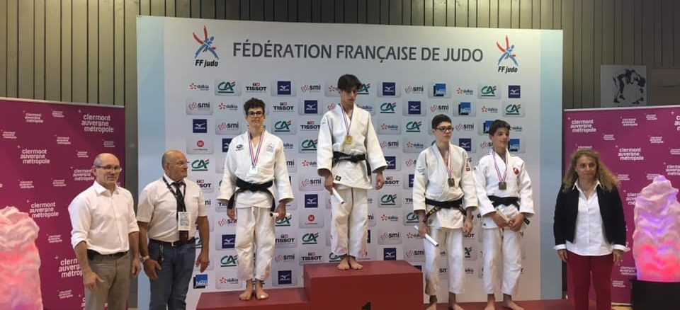 Bastien Vice Champion de France Cadets 2div