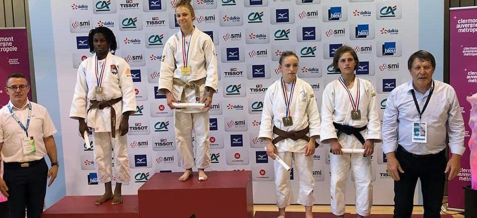 Ilona Championne de France Cadettes Espoir